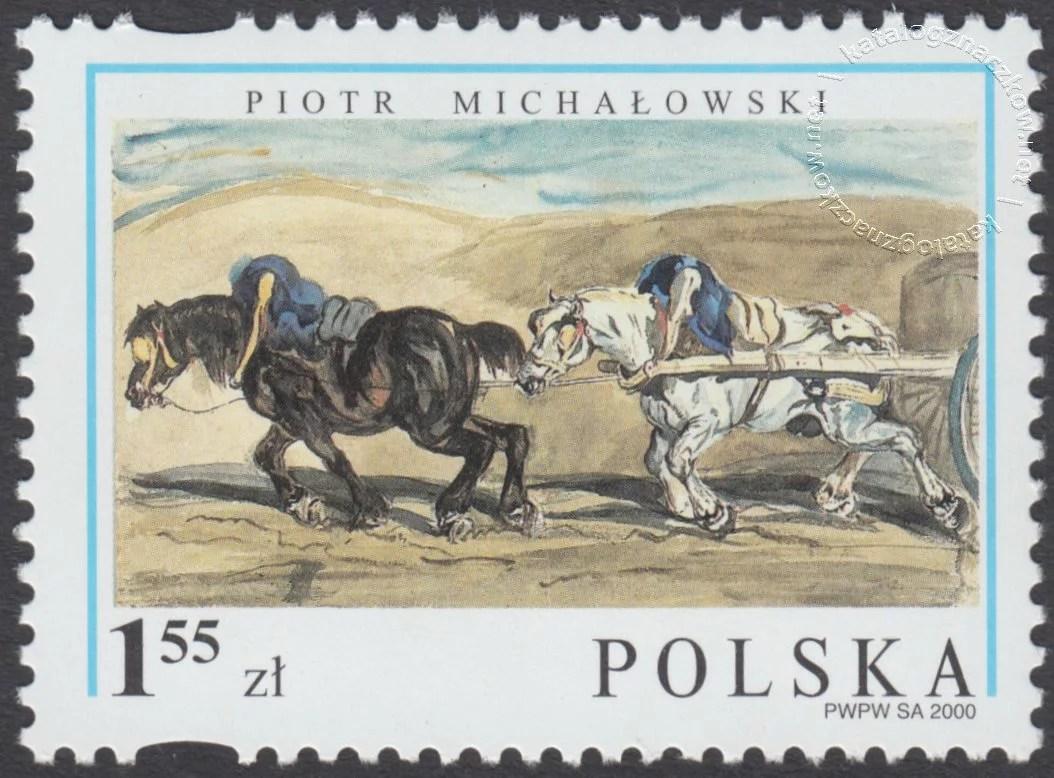 200-lecie urodzin Piotra Michałowskiego znaczek nr 3701