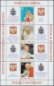 Osiem wizyt duszpasterskich Ojca Świętego Jana Pawła II w Polsce ark. 3963-3966