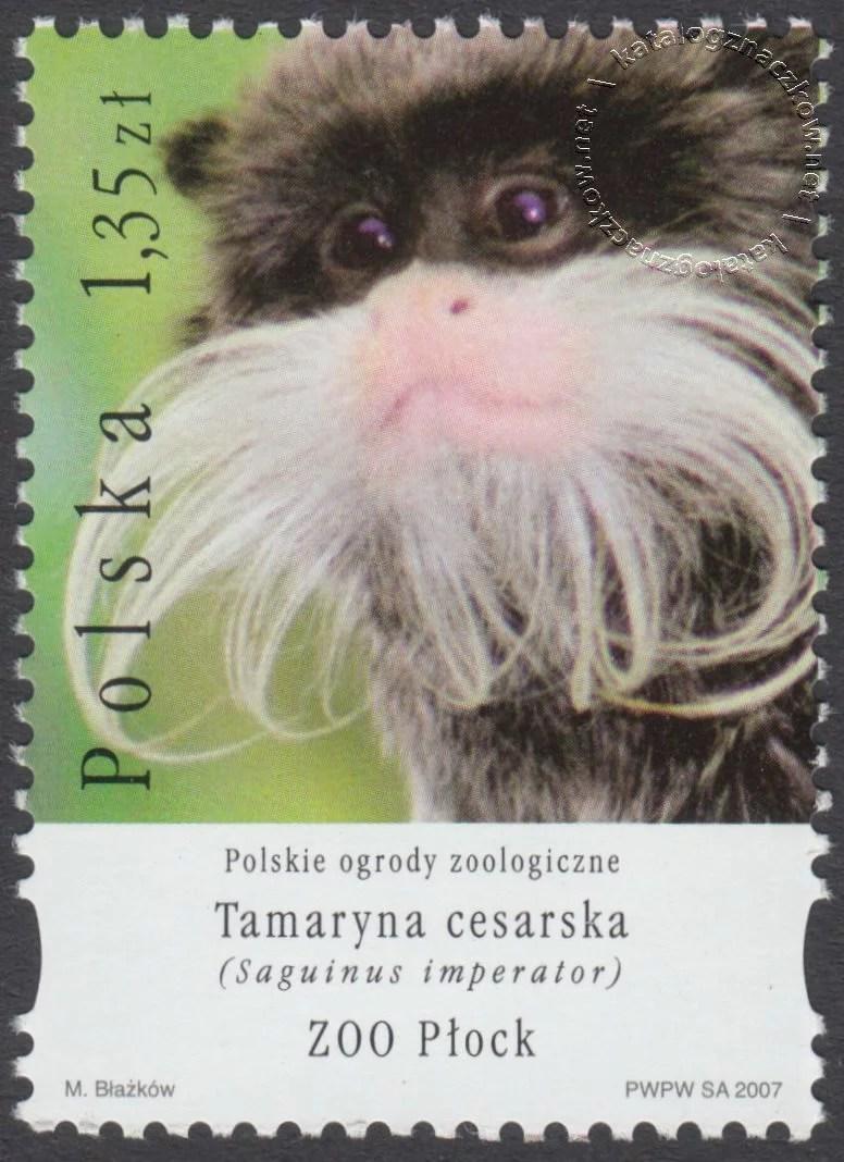 Polskie ogrody zoologiczne znaczek nr 4177