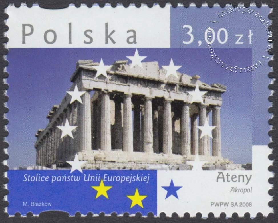 Stolice Państw Unii Europejskiej znaczek nr 4245