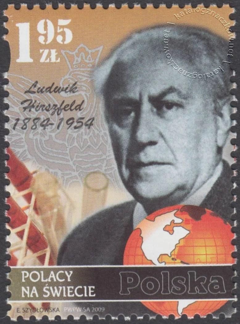 Polacy na świecie znaczek nr 4292