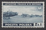 Zniszczenia dokonane przez Niemców w Polsce. Wojsko polskie w Wielkiej Brytanii - znaczek nr G338