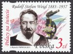 Polacy na świecie - Rudolf Stefan Weigi - znaczek nr 4382