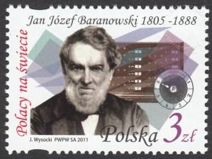 Polacy na świecie - Jan Józef Baranowski - znaczek nr 4381