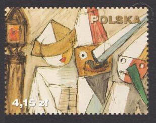 150 rocznica powstania Muzeum Narodowego w Warszawie - znaczek nr 4413