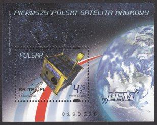 Pierwszy polski satelita naukowy - Blok 163