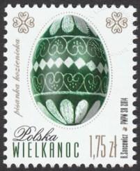 Znaczek obiegowy Wielkanoc - znaczek nr 4512