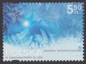Zjawiska meteorologiczne - znaczek nr 4564