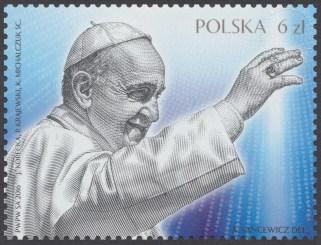 Światowe Dni Młodzieży Kraków 2016 - znaczek nr 4683