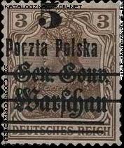 Wydanie przedrukowane na znaczkach GG Warschau - 9