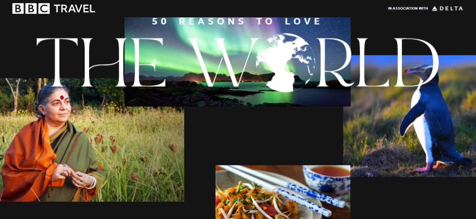 BBC Travel 50 Reasons to Love the World