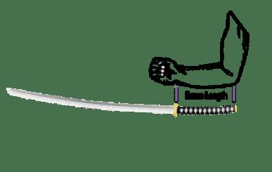 How to Size a Katana - Ninja Weapons - Katana Length