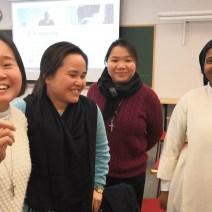 Samarbeid med andre klostre i Norge. sr. Sheeba med josephsøstre