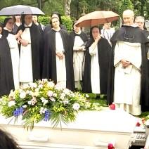 Og stor sorg da sr. Agnes døde.