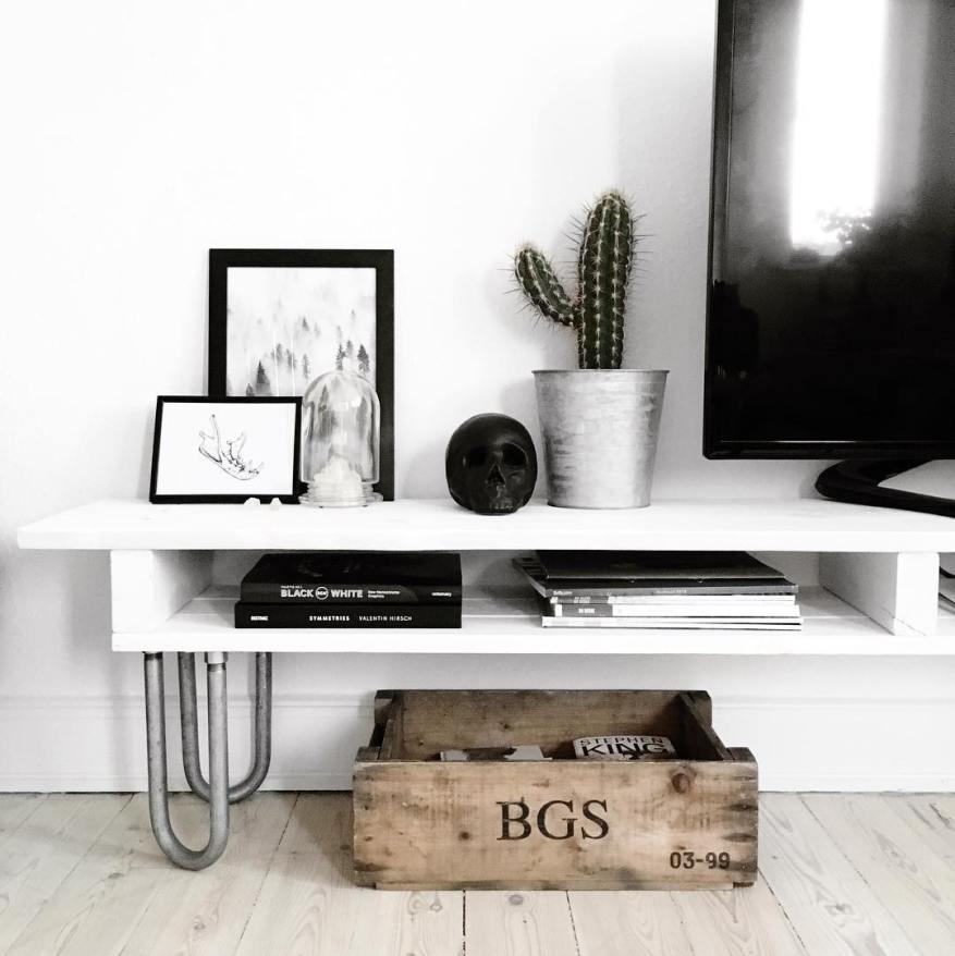 7 DIY PROJEKTER: TV bord / table - Katarina Natalie