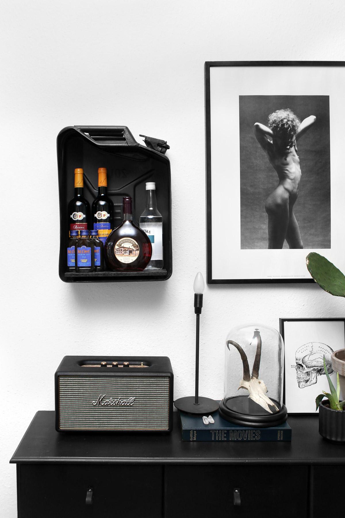 DIY barskab af benzindunk / Bar cabinet - Katarina Natalie