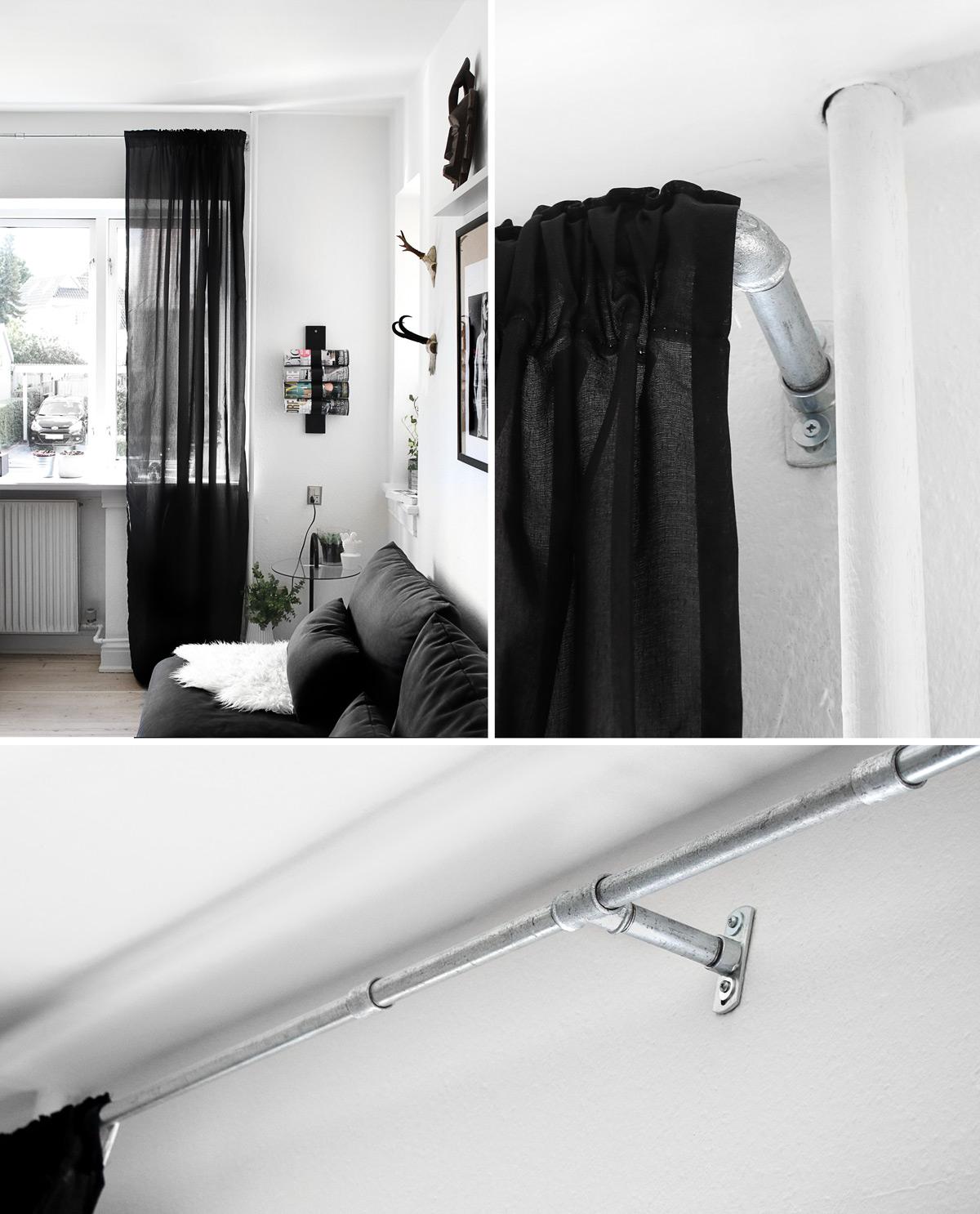 DIY gardinstang / curtain rod || Katarina Natalie