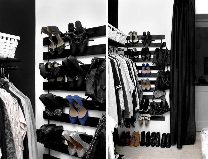 Ophæng til sko - IKEA hack   Katarina Natalie