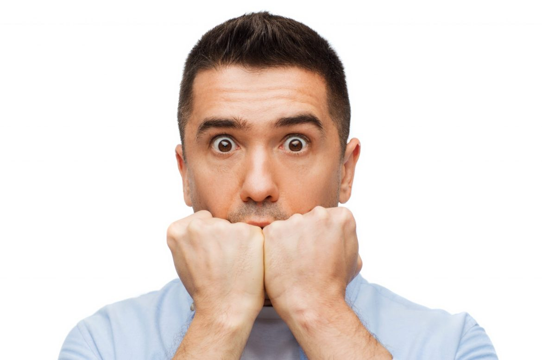 Image result for afraid men