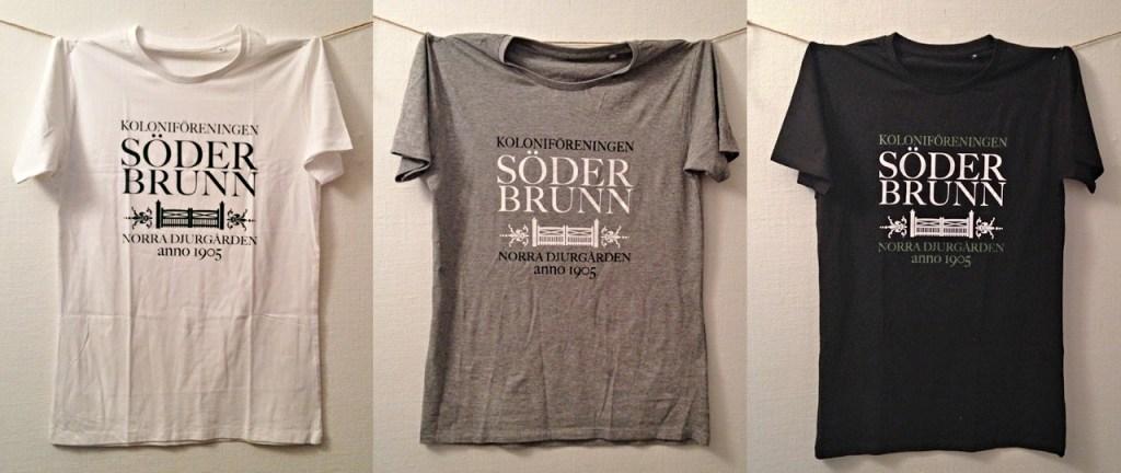 T-shirt Söderbrunns koloniförening