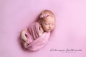 sesja noworodkowa dziewczynka kraków