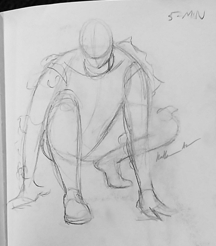 5-Minute Figure Drawing