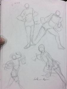 2-Minute Figure Drawings