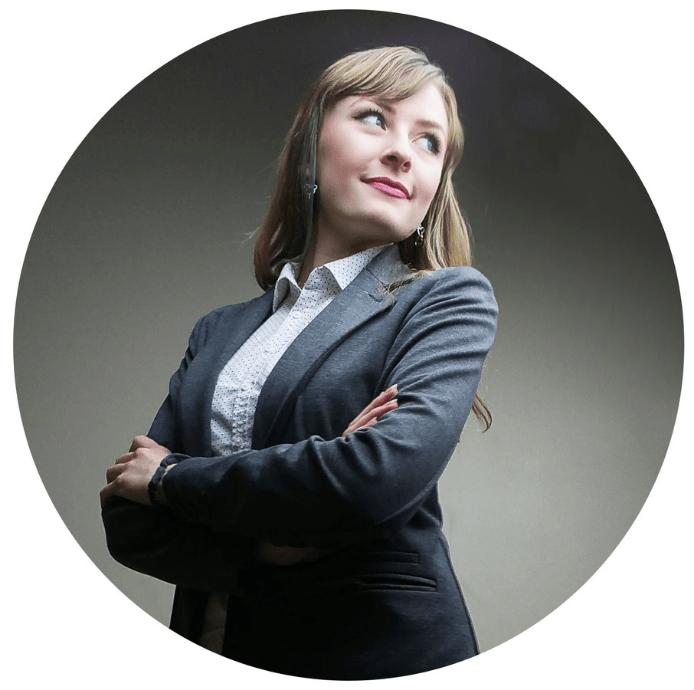 Business Suit Confident Portrait by Katherine Augade