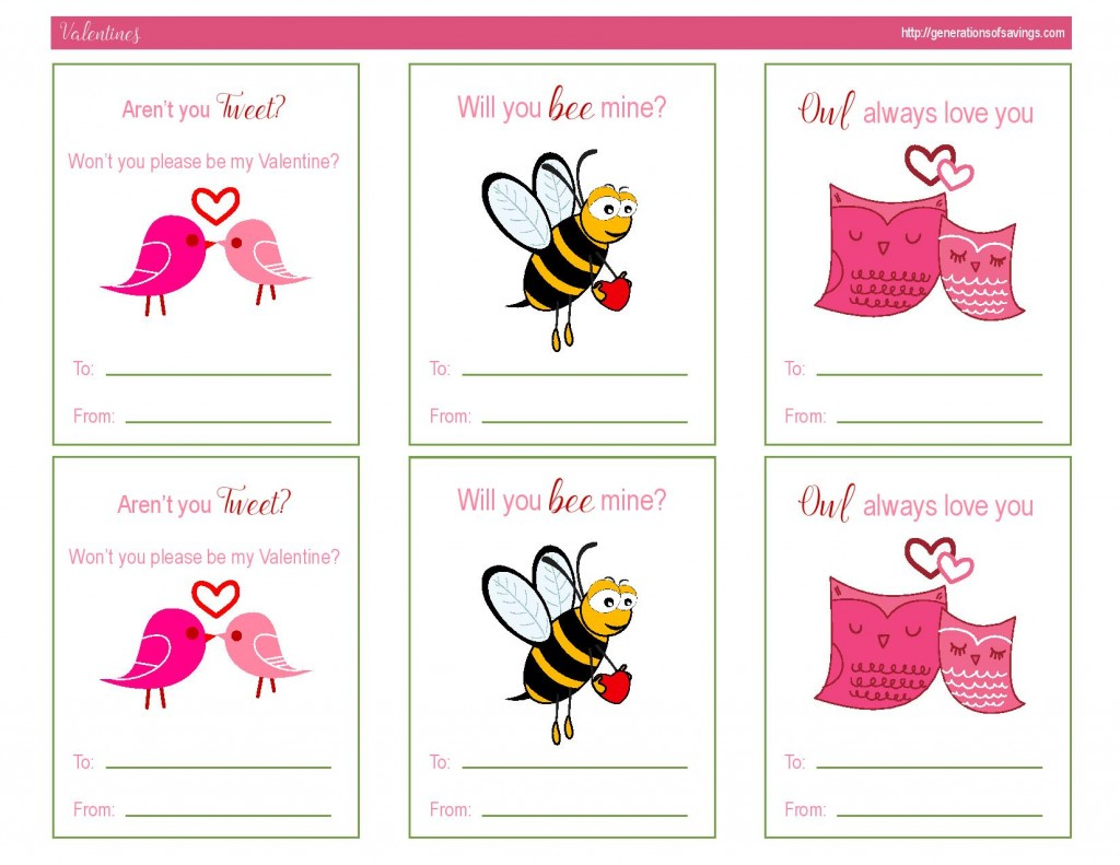 Awesome Free Printable Valentines Day Cards Kat Balog