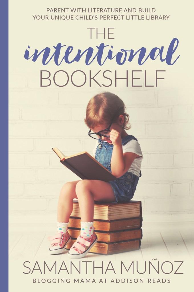 Intentional bookshelf, reading, children's books