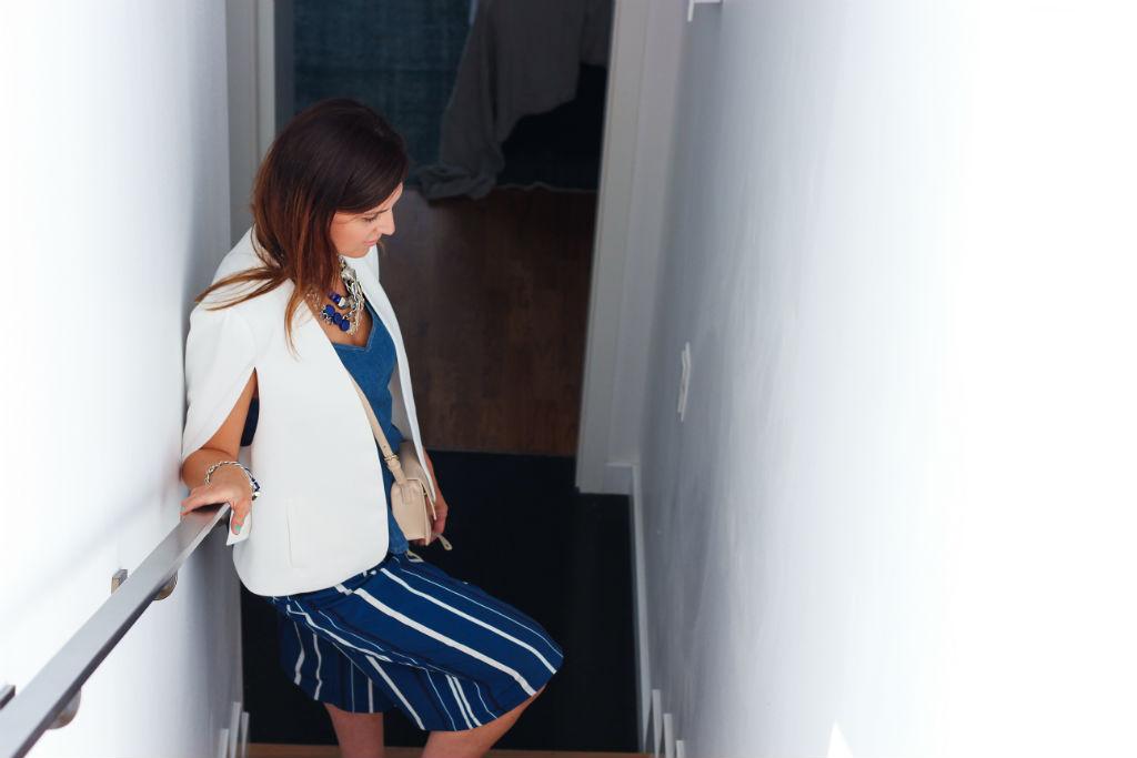 Zara Denim Top-blue Culotte-white Cape_03