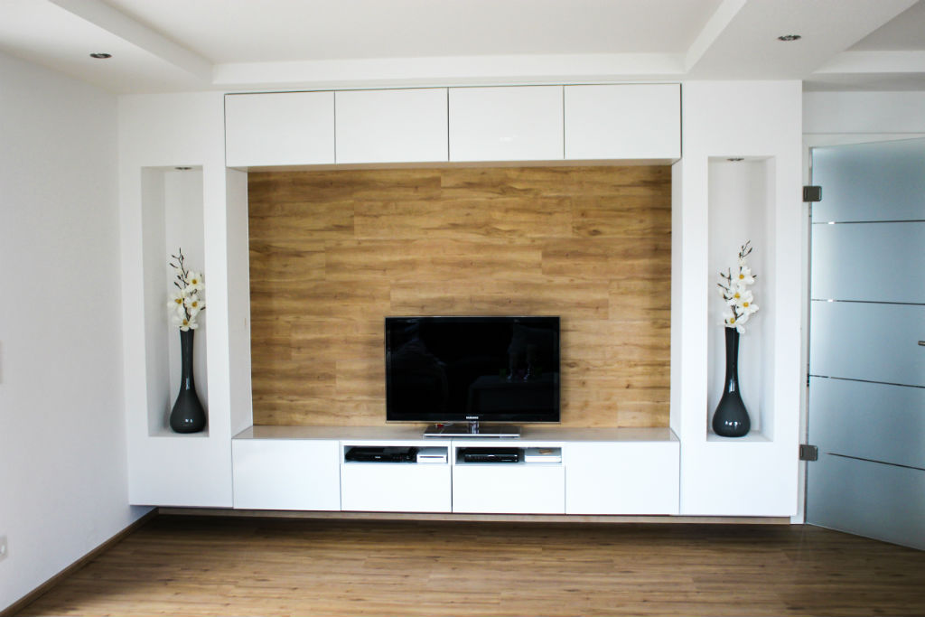 DIY living room wall at HOMIFY_17