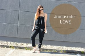 Daily Look | Jumpsuit in blue navy from European Culture