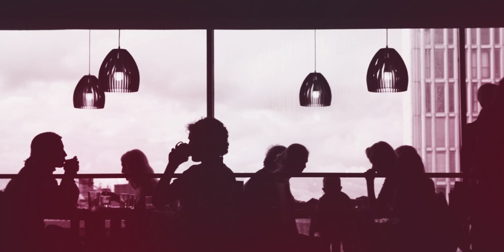 Diners in a restaurant (Katch Up: Is Your Restaurant Post-Pandemic Ready?)