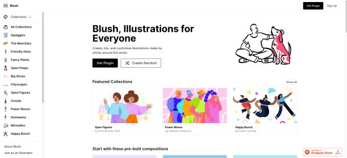 blush.design