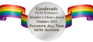 goodreads m/m romance gay group favourite all-time author nomination badge 2013 kate aaron