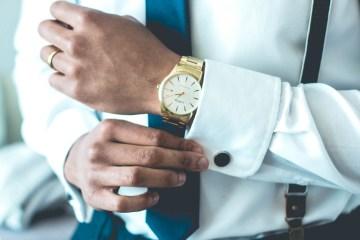 businessman shirt cuff strait laced
