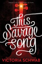 This Savage Song by Victoria Schwab Top Ten Tuesday Series I've Been Meaning to Start But Haven't on Cover to Cover book and Blogging blog by Kat Snark