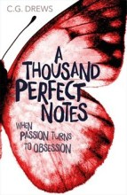 A Thousand Perfect Notes by CG Drews PaperFury cover to cover book blog kat snark