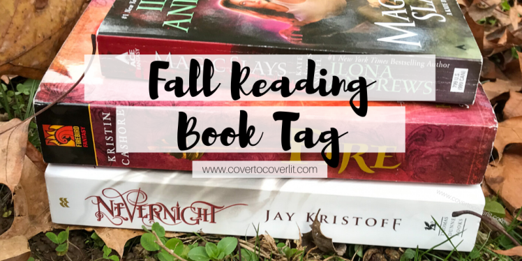 Cover to Cover Book Blog Kat Snark covertocoverlit Book Blogger Book blog reader reading Fall Reading Book Tag