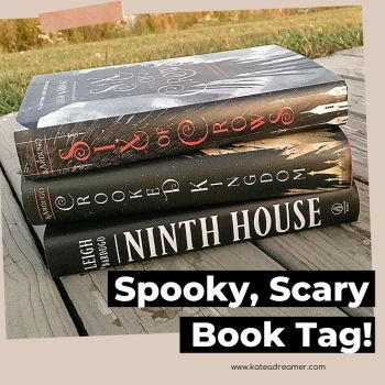 Spooky, Scary Book Tag!