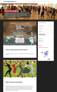 Edinburgh Swing Dance Society homepage