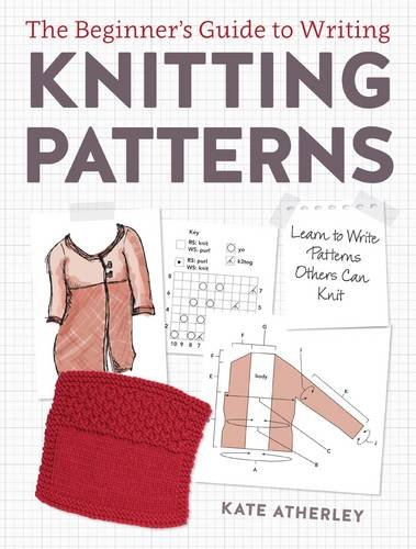 The Beginner's Guide to Writing Knitting Patterns book cover photo