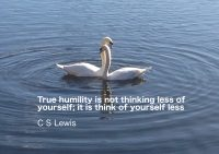 C S Lewis Humility Quote