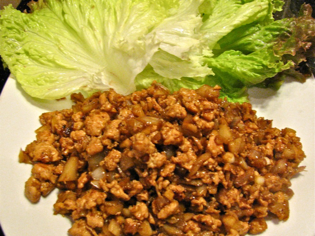 Savory Chicken Lettuce Wraps