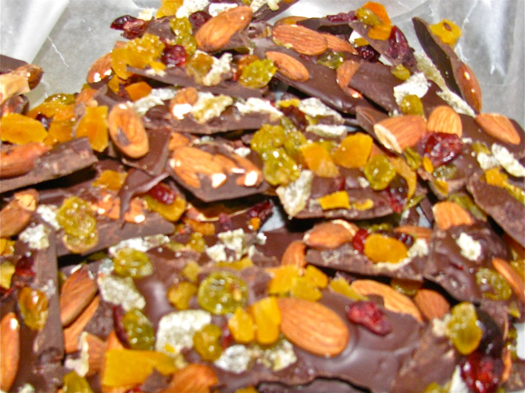 French Chocolate Bark-Easy and Elegant Dessert