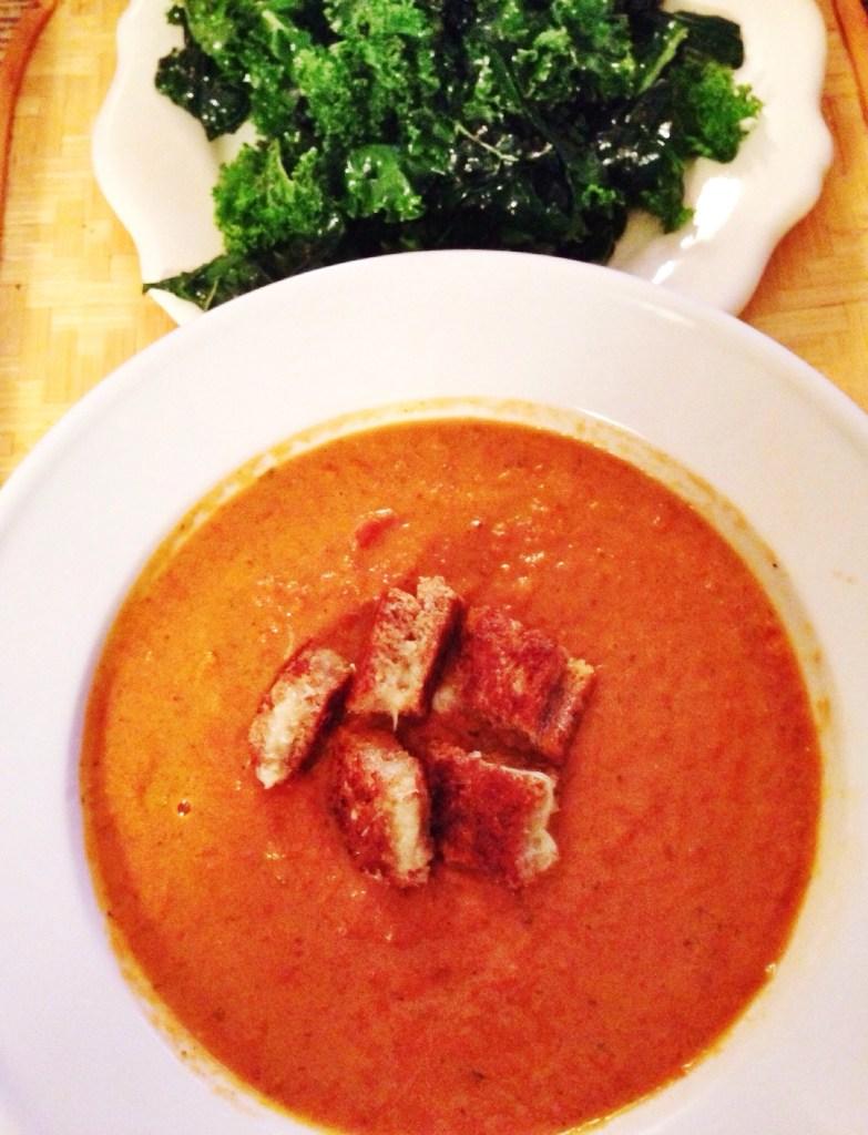 Creamy Fire Roasted Tomato Soup