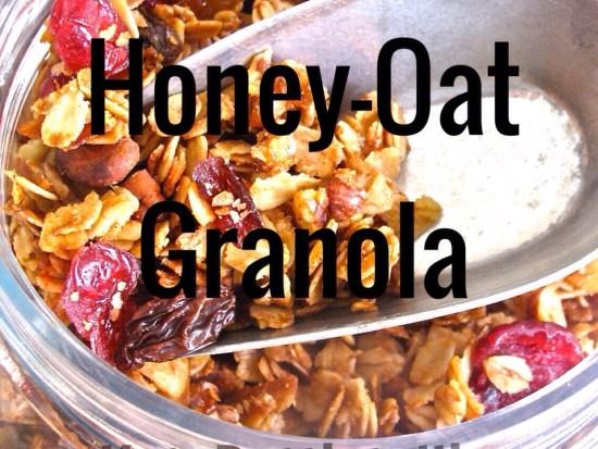Honey Oat Granola