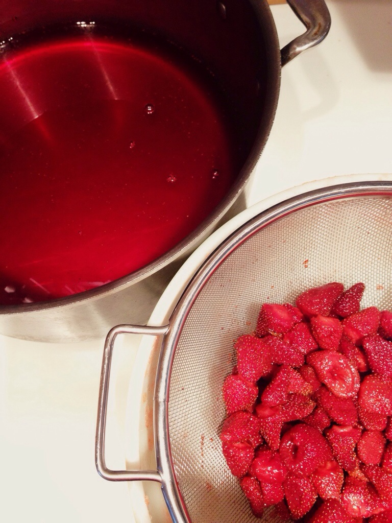 Strawberry Jam–The French Way
