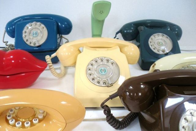 vintage retro telephones from kate Beavis and Your Vintage Life blog